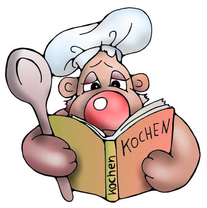 Mausebaeren comics von christine dumbsky for Kochbuch backen